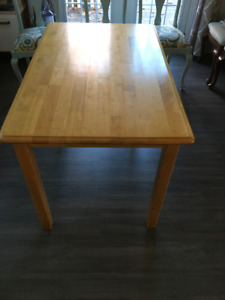 Solid wood small dining table OBO