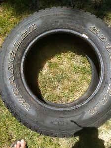 1 GoodYear Wrangler never used 245/65/17 tire Kawartha Lakes Peterborough Area image 2