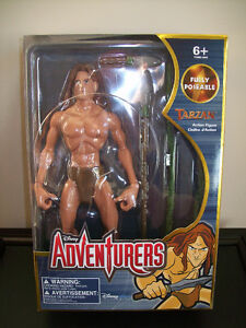 """Disney Adventurers"" 12 inch figure - Tarzan (new / unopened)"