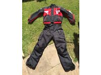 Buffalo bike jacket and trousers