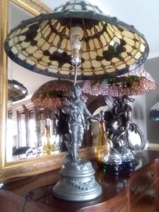 1910 antique tiffany lamp lampe