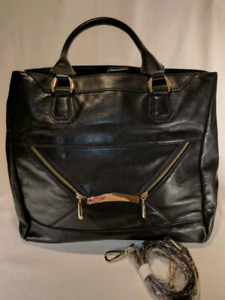 RIAN LEATHER HANDBAG - NEVER USED