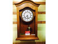 LCC Light Wood Wall Clock