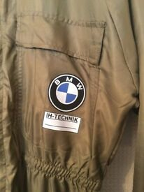 Genuine Habetex BMW Clean room lint free automotive overall jumpsuit boiler suit climatic
