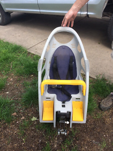 Front facing baby seat