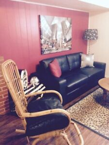 One bedroom furnished suite for rent!