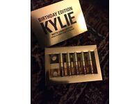 Authentic kylie matte liquid lipsticks kit birthday edition