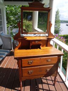 Antique Child's Dresser (Butternut)