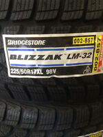 Brand New Bridgestone Blizzak LM-32 225/50R17. BMW+ $70 REBATE !