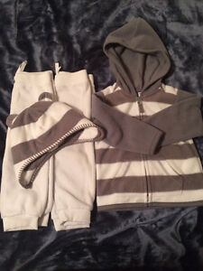 4 piece boys outfit