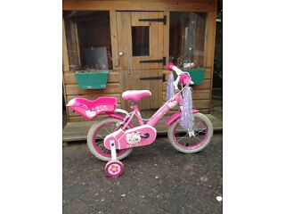 Hello kitty bike 14""