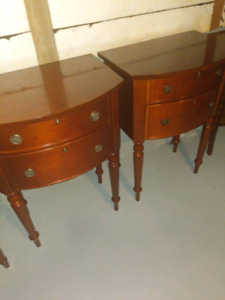 2 Bombay End Table Night Stand
