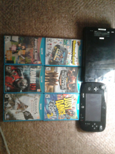 Nintendo Wii U And Games REDUCED
