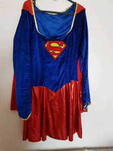 Supergirl halloween women costume