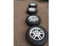 """18"""" Range Rover Alloys 255/60 tyres nearly new great condition"""
