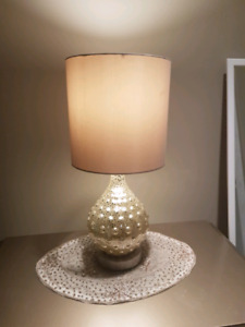 Pair of lamps for sale...contact at 4034004708