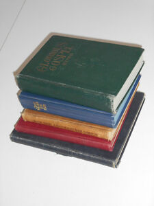 Five Hymnal Books (from 1922 to 1968)