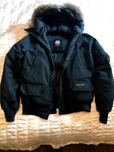 Black Canada Goose Chilliwhack Bomber Size S
