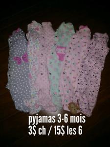 Vêtements bébé fille 0-12 mois