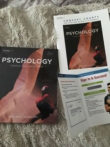 Psychology Themes and Variations Textbook needed for Athabasca