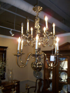 Chandelier - Stunning, Silver, Rich-Looking, Stately, Modern