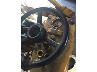 Diesel mini road roller