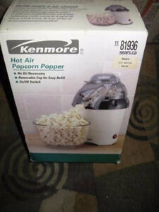 Brand New Vintage Sears Kenmore Hot Air Popcorn Popper