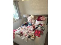 Job lot 3-6months girls clothes over 80 items