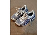 Asics gel woman trainers size 4