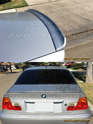 99 06 ALL COLOR PAINTED BMW 3 SERIES E46 COUPE BIG TRUNK LIP SPOILER