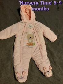 Brand new baby pramsuit 6-9 months