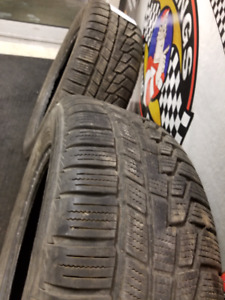 WINTER TIRES - 75% - NOKIAN - P195/60R15