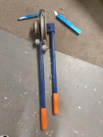 Copper pipe bending tool