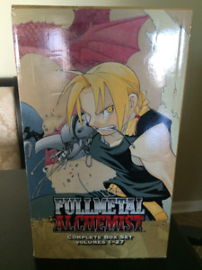 (manga) Fullmetal Alchemist Box Set complete series box set