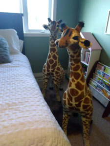 Melissa & Doug Giraffes for sale new in excellent condition.
