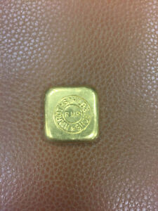 2oz Rare Collectable Rothchild old gold bar
