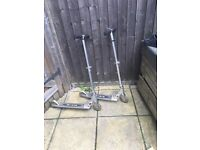 2x micro scooters £20 each