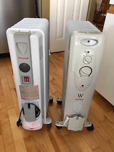 2 Heaters - $65ea. OBO