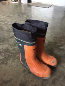 Viking Caulk Boots Steel Toe
