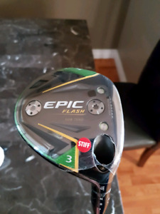 Callaway Epic Flash Subzero 3 wood