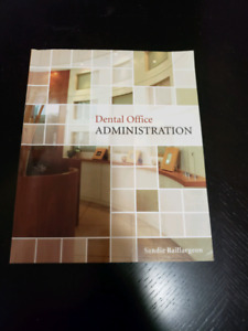 Dental office administration text book