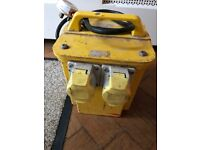 Site transformer 110 volt