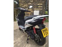 2015 AJS Firefox 50cc scooter moped like new
