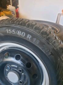Suzuki Carry van wheels and tyres