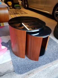 JUAL San Marino Nest of Tables - Walnut