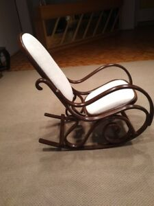 TWO GORGEOUS BENTWOOD ROCKING CHAIRS