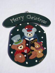 Merry Christmas & Welcome Sign
