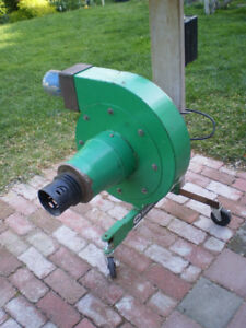 1.5HP Industrial Blower, single phase 230V