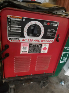 AC LINCOLN ELECTRIC ARC WELDER