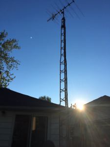Tower, Antenna and Receiver for Sale
